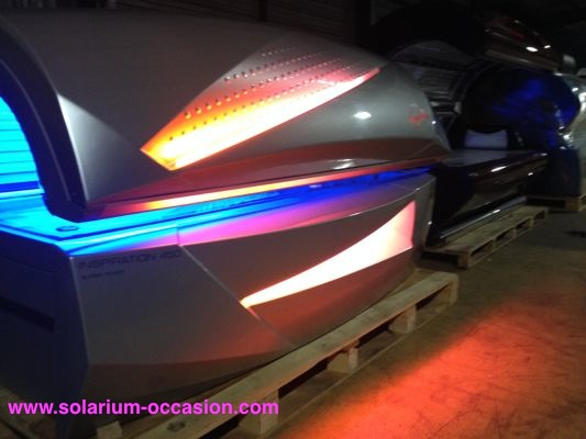 Ergoline 450 Inspiration  Super power solarium occasion