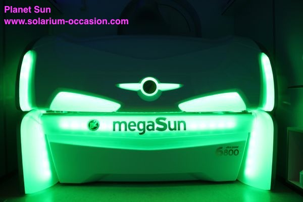 megaSun 6800 Ultra Power solarium occasion