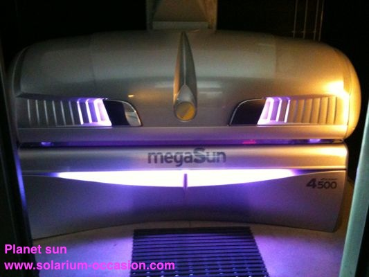 megaSun 4500 Super Power solarium occasion